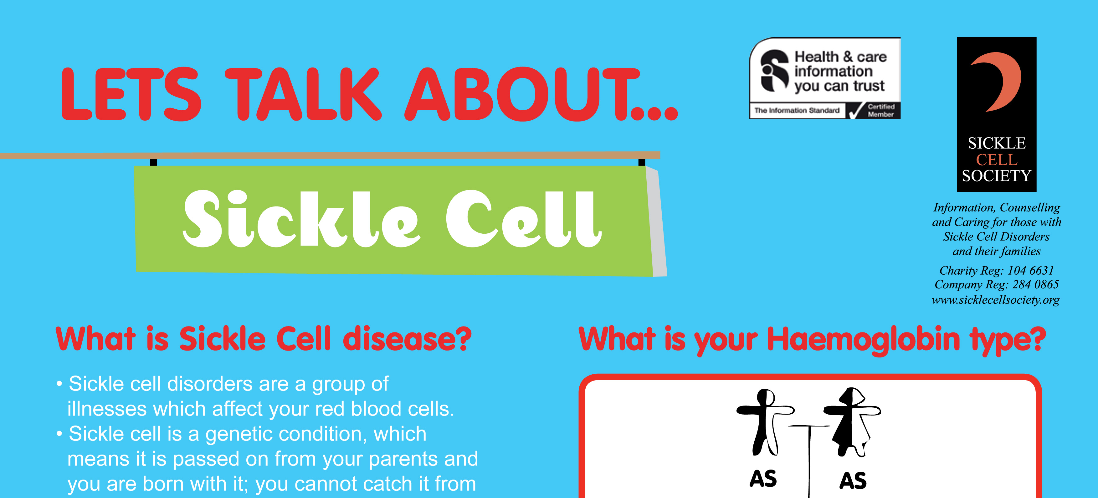 Let S Talk About Sickle Cell Sickle Cell Awareness Poster
