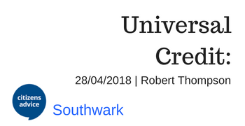 Universal Credit Powerpoint